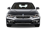 Car photography straight front view of a 2016 BMW 3 Series Luxury 4 Door Sedan Front View