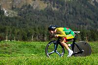 Picture by Alex Whitehead/SWpix.com - 25/09/2018 - Cycling - UCI 2018 Road World Championships - Innsbruck-Tirol, Austria - Junior Men's Individual Time Trial - SIDLAUSKAS Erikas (Lithuania).