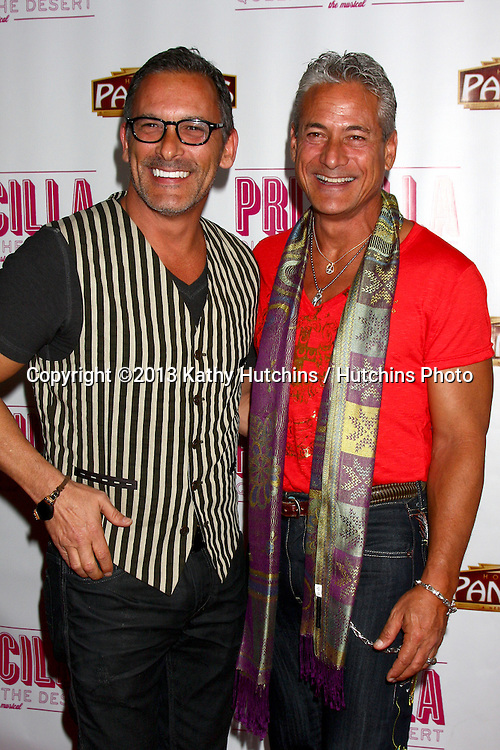 "LOS ANGELES - MAY 29:  Greg Louganis arrives at  the ""Priscilla Queen of the Desert"" Play Opening at the Pantages Theater on May 29, 2013 in Los Angeles, CA"