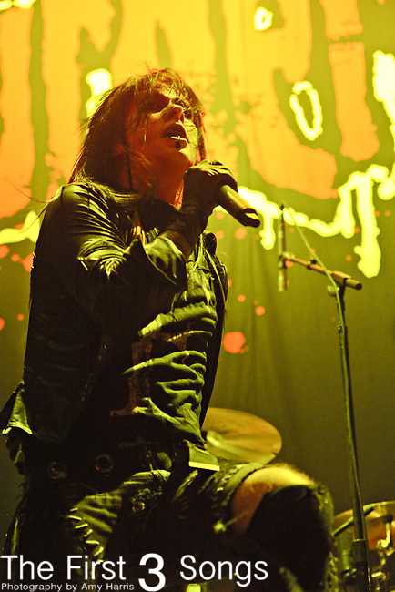 Wednesday 13 of Murderdolls performs at the Nashville Municipal Auditorium in Nashville, Tennessee on Oct 20, 2010.