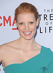 Jessica Chastain at The Fox Searchlight L.A. Premiere of The Tree of Life held at The Bing Theatre at LACMA in Los Angeles, California on May 24,2011                                                                               © 2011 Hollywood Press Agency