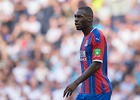 Christian Benteke of Crystal Palace during the Premier League match between Tottenham Hotspur and Crystal Palace at Wembley Stadium, London, England on 14 September 2019. Photo by Vince  Mignott / PRiME Media Images.