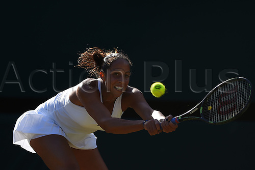 02.07.2016. All England Lawn Tennis and Croquet Club, London, England. The Wimbledon Tennis Championships Day Six.  Madison Keys (USA)