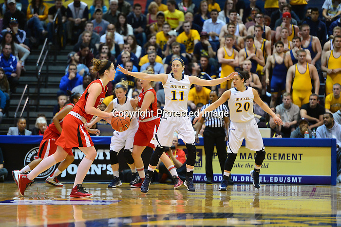 PHILADELPHIA - Taylor Wootton will end her career with a win. The senior forward, who has played more games than anyone who has ever worn a Drexel uniform, saved one of her best games for last as she scored a game-high 16 points and added six rebounds to help guide the Drexel women's basketball team to the 2013 WNIT championship with a 46-43 victory over Utah. Wootton, who has played in a Dragon-record 131 games, became just the 21st player in Drexel women's basketball history to reach 1,000 career points early in the second half, and finished her career with 1,001.<br /> <br /> <br /> <br /> Hollie Mershon will end her career with a win. The senior guard played just one game less than Wootton over the course of her career, and finished the season as Drexel's leading scorer. She was named the WNIT Most Valuable Player after a performance that saw her score 14 points, including 12 in the second half. Mershon drove down the left side and scored with 21 seconds remaining to give the Dragons a 44-43 lead, and after a Utah turnover, Mershon hit both ends of a 1-and-1 to put the Dragons up by their final margin of three points.<br /> <br /> <br /> <br /> Renee Johnson-Allen will end her career with a win. The senior guard finished with six points and three rebounds after a season in which she became arguably the Dragons' best rebounder despite her 5'6&quot; stature. Johnson-Allen, who started the season's final 15 games, figured into one of the championship game's most important plays late in the contest. With the Utes up by a point and taking the ball out of bounds under their own basket, Wootton tipped the inbounds pass to Johnson-Allen, who somehow kept the ball inbounds and helped Drexel regain possession with 30 seconds remaining. That led to Mershon's go-ahead layup nine seconds later.<br /> <br /> <br /> <br /> Nicki Jones will end her career with a win, too. The senior forward has missed the season's final 15 games after sustaining a knee injury in the Dragons' lo