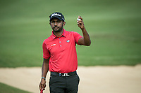 S Chikkarangappa (IND) during the 3rd round of the AfrAsia Bank Mauritius Open, Four Seasons Golf Club Mauritius at Anahita, Beau Champ, Mauritius. 01/12/2018<br /> Picture: Golffile | Mark Sampson<br /> <br /> <br /> All photo usage must carry mandatory copyright credit (© Golffile | Mark Sampson)