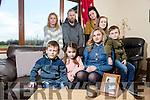 Front l-r Fiachra Flavin, Bronagh Flavin, Aoife Flavin, Caoimhe Flavin, Oisin Flavin, Back l-r Marie Guerin, Ray Flavin, Sandra Breen