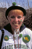 St Patricks day parade marshal age 35.  St Paul  Minnesota USA