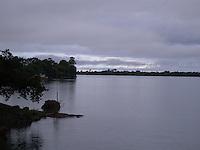 Rio Parana at dusk (II) Paraguay urban, rural and indigenous communities