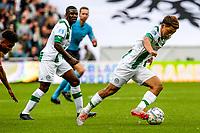 GRONINGEN - Voetbal, FC Groningen - FC Twente, Eredivisie, seizoen 2019-2020, 10-08-2019, FC Groningen speler Ritsu Doan en FC Groningen speler Azor Matusiwa