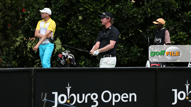 Justin Harding (RSA) drives from the 15th on the West Course during Round Two of the Joburg Open 2015 at the Royal Johannesburg & Kensington Golf Club, Johannesburg, Gauteng, South Africa. Picture:  David Lloyd / www.golffile.ie. 27/02/2015