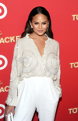 NEW YORK, NY - DECEMBER 07: Chrissy Teigen attends as Target Presents 'The Toycracker' Premiere Event at Spring Studios on December 7, 2016 in New York City. Photo by John Palmer/MediaPunch