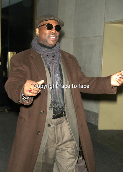 LeVar Burton seen at NBC's Today Show in New York City. February 4, 2013. ..Credit: MediaPunch/face to face..- Germany, Austria, Switzerland, Eastern Europe, Australia, UK, USA, Taiwan, Singapore, China, Malaysia and Thailand rights only -