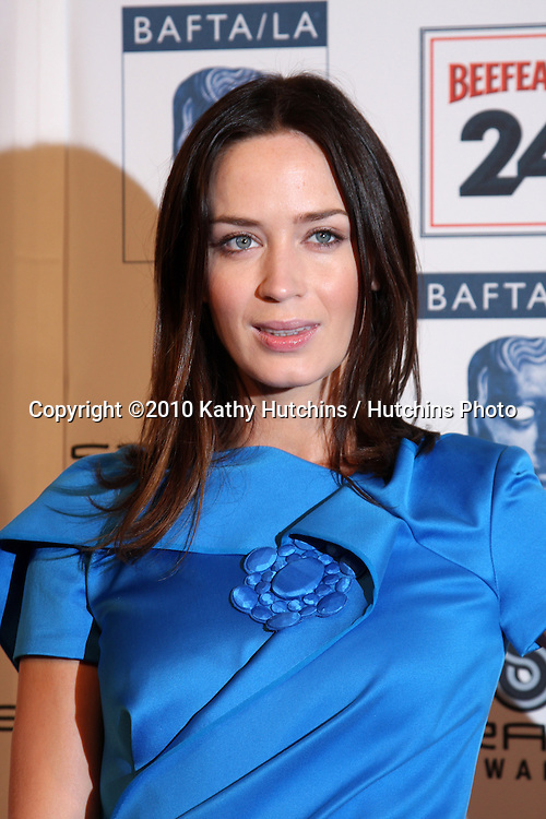 Emily Blunt.arriving at the BAFTA/LA Awards Season Tea Party 2010.Beverly Hills Hotel.Beverly Hills, CA.January 16, 2010.©2010 Kathy Hutchins / Hutchins Photo....