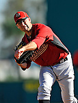 7 March 2011: Houston Astros' pitcher Patrick Urckfitz on the mound during a Spring Training game against the Washington Nationals at Space Coast Stadium in Viera, Florida. The Nationals defeated the Astros 14-9 in Grapefruit League action. Mandatory Credit: Ed Wolfstein Photo