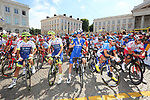 Ready to start Stage 1 of the 2019 Tour de France running 194.5km from Brussels to Brussels, Belgium. 6th July 2019.<br /> Picture: ASO/Olivier Chabe | Cyclefile<br /> All photos usage must carry mandatory copyright credit (© Cyclefile | ASO/Olivier Chabe)