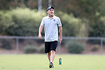 CARY, NC - AUGUST 24: Paul Riley. The North Carolina Courage held a training session on August 24, 2017, at WakeMed Soccer Park Field 7 in Cary, NC.