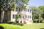 "Thomas Fuller House, ""Tabby Manse"" - circa 1786, a lovely antebellum home in Beaufort, SC, a National Historic District."