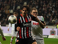 Goncalo Paciencia (Eintracht Frankfurt) gegen Rafael Czichos (1. FC Koeln) - 18.12.2019: Eintracht Frankfurt vs. 1. FC Koeln, Commerzbank Arena, 16. Spieltag<br /> DISCLAIMER: DFL regulations prohibit any use of photographs as image sequences and/or quasi-video.
