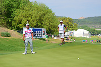 Hideto Tanihara (JAP) barely misses his putt on 16 during round 6 of the World Golf Championships, Dell Technologies Match Play, Austin Country Club, Austin, Texas, USA. 3/26/2017.<br /> Picture: Golffile | Ken Murray<br /> <br /> <br /> All photo usage must carry mandatory copyright credit (&copy; Golffile | Ken Murray)