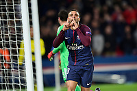 Celebration Esultanza de KURZAWA Layvin (PSG) apres son second but<br /> Parigi 31-10-2017 <br /> Paris Saint Germain - Anderlecht Champions League 2017/2018<br /> Foto Panoramic / Insidefoto