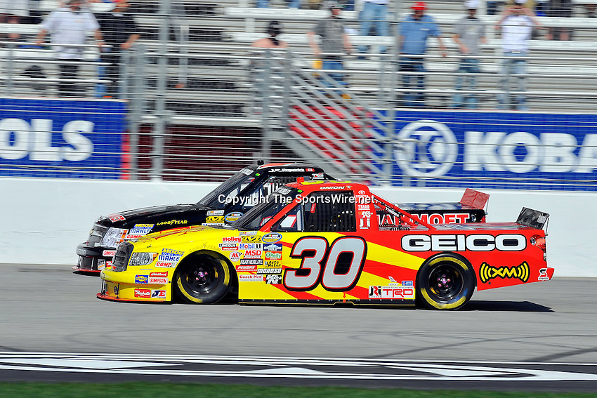Mar 07, 2009; 2:23:33 PM; Hampton, GA, USA; NASCAR Camping World Truck Series race for the American Commercial Lines 200 at the Atlanta Motor Speedway.  Mandatory Credit: (thesportswire.net)