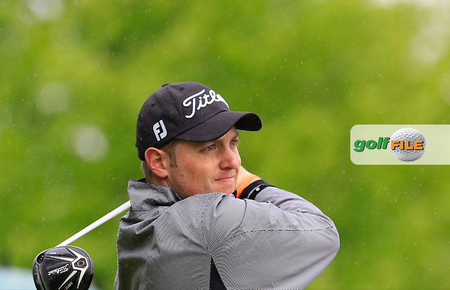 Matthew Southgate (ENG) tees off the 5th tee during Saturday's Round 3 of the 2016 Dubai Duty Free Irish Open hosted by Rory Foundation held at the K Club, Straffan, Co.Kildare, Ireland. 21st May 2016.<br /> Picture: Eoin Clarke | Golffile<br /> <br /> <br /> All photos usage must carry mandatory copyright credit (&copy; Golffile | Eoin Clarke)