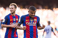 FC Barcelona's Rafinha Alcantara during the La Liga match between Futbol Club Barcelona and Deportivo de la Coruna at Camp Nou Stadium Spain. October 15, 2016. (ALTERPHOTOS/Rodrigo Jimenez) NORTEPHOTO.COM