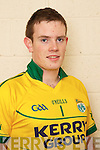 Padraig McCarthy member of the Kerry U-21 panel 2012