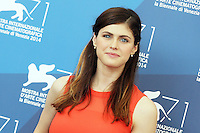 Venice, Italy - September 04: Alexandrea Daddario attends the 'Burying The Ex' photocall at Palazzo Del Cinema, during the 71st Venice Film Festival on September 04, 2014 in Venice, Italy. (Photo by Mark Cape/Inside Foto)<br /> Venezia, Italy - September 04: Alexandrea Daddario presente al photocall di 'Burying The Ex' al Palazzo Del Cinema, durante del 71st Venice Film Festival. Settenbre 04, 2014 Venezia, Italia. (Photo by Mark Cape/Inside Foto)