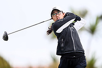 Caryn Khoo. New Zealand Stroke Play Championships, Paraparaumu Golf Course, Paraparaumu Beach, Kapiti Coast, Saturday 24 March 2018. Photo: Simon Watts/www.bwmedia.co.nz