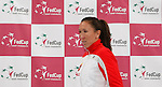 Tenis, Fed Cup 2011, play-off for group A.Slovakia Vs. Serbia, Official Draw.Jelena Jankovic. Bratislava, 15.04.2011..foto: Srdjan Stevanovic/Starsportphoto ©