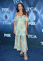 Cleopatra Coleman at the Fox Winter TCA 2017 All-Star Party at the Langham Huntington Hotel, Pasadena, USA 11th January  2017<br /> Picture: Paul Smith/Featureflash/SilverHub 0208 004 5359 sales@silverhubmedia.com