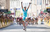 Picture by ASO/Alex Broadway/SWpix.com - 05/06/2016 - 12/06/2016 Cycling. Criterium du Dauphine 2016 - Mandatory credit ASO/Alex Broadway/SWpix<br /> Fabio Aru<br /> <br /> copyright image - ASO/SWpix - simon@swpix.com