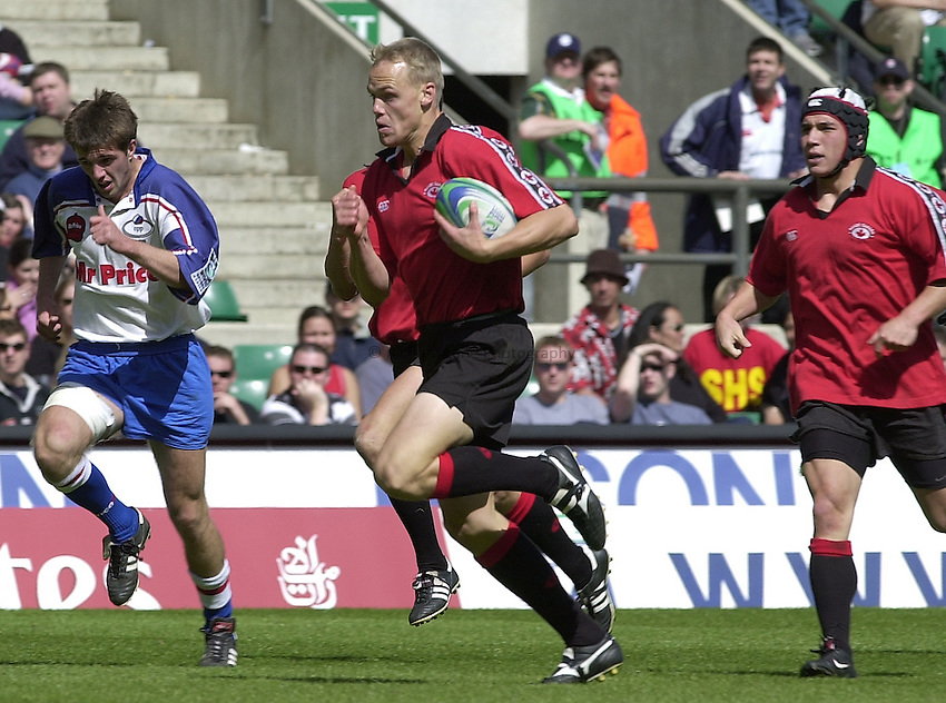 Photo Peter Spurrier.25/05/2002 (Saturday).Sport -Rugby Union - London Sevens.Canada vs Russia.Tim Barrett