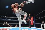 Jay White vs Tetsuya Naito during the IWGP Intercontinental Championship Match New Japan Pro-Wrestling Wrestle Kingdom 14 at Tokyo Dome on January 4, 2020 in Tokyo, Japan. (Photo by New Japan Pro-Wrestling/AFLO)
