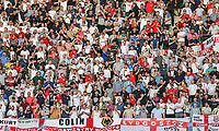 The England support during the International Friendly match between France and England at Stade de France, Paris, France on 13 June 2017. Photo by David Horn/PRiME Media Images.