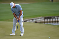 Paul Casey (GBR) drains his putt on 12 during day 3 of the WGC Dell Match Play, at the Austin Country Club, Austin, Texas, USA. 3/29/2019.<br /> Picture: Golffile | Ken Murray<br /> <br /> <br /> All photo usage must carry mandatory copyright credit (© Golffile | Ken Murray)