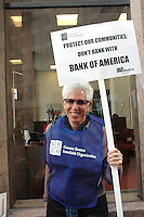 Bank of America Protest by GBIO
