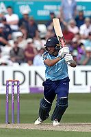 Jack Leaning in batting action for Yorkshire during Essex Eagles vs Yorkshire Vikings, Royal London One-Day Cup Play-Off Cricket at The Cloudfm County Ground on 14th June 2018