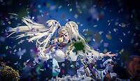 RIO DE JANEIRO, RJ, 28.04.2017 - SHOW-RJ - Xuxa Meneguel apresenta o lançamento nacional da Turnê XuChá, versão da famosa festa Chá da Alice no Metropolitan, zona oeste da cidade do Rio de Janeiro, na noite dessa sexta-feira, (28). 'Ilariê', 'Lua de Cristal', 'Planeta Xuxa' e 'Arco-íris', são alguns dos hits durante sua performance. (Foto: Jayson Braga / Brazil Photo Press )