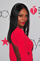 NEW YORK, NY - February 8: Afiya Bennett attends the Red Dress / Go Red For Women Fashion Show at Hammerstein Ballroom on February 8, 2018 in New York City <br /> CAP/MPI/JP<br /> &copy;JP/MPI/Capital Pictures