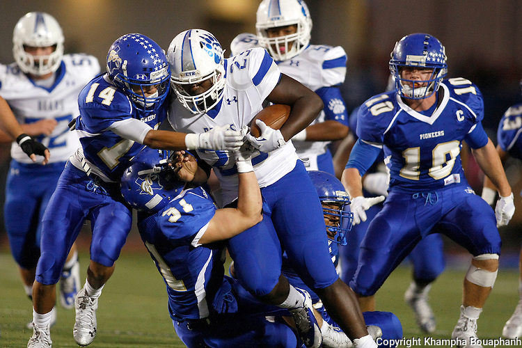 Boswell beats Brewer 52-24 in a district 5-5A high school football game at Pioneer Stadium in Fort Worth on Friday, October 17, 2014. (photo by Khampha Bouaphanh)