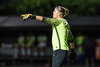 Boston, MA - Friday August 04, 2017: Nicole Barnhart during a regular season National Women's Soccer League (NWSL) match between the Boston Breakers and FC Kansas City at Jordan Field.