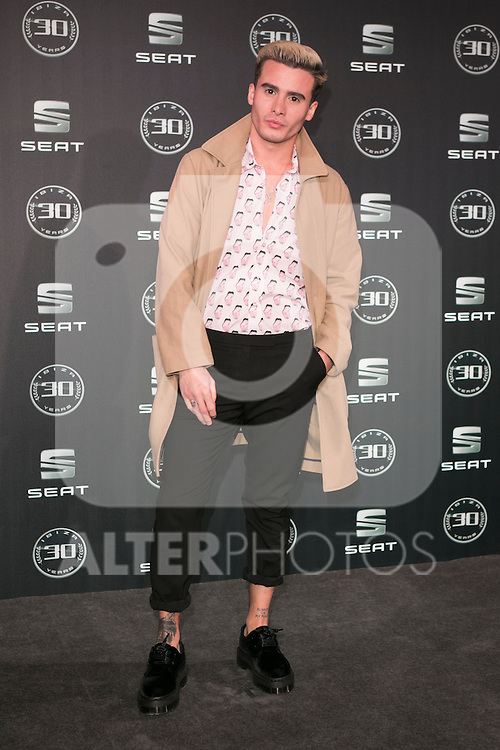 Roi Porto attends the 30th Anniversary Party Of Seat IBIZA Car at COAM in Madrid, Spain. November 6, 2014. (ALTERPHOTOS/Carlos Dafonte)