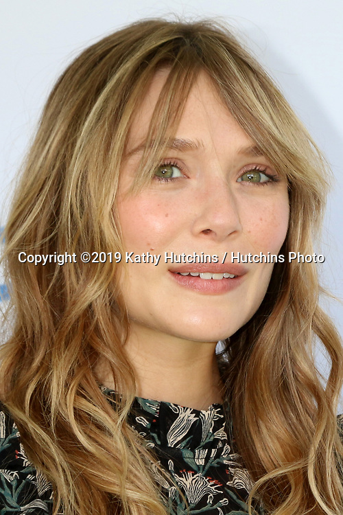 LOS ANGELES - OCT 6:  Elizabeth Olsen at  The Rape Foundation's Annual Brunch at the Private Estate on October 6, 2019 in Beverly Hills, CA