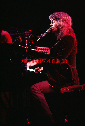 Leon Russell 1971 at the Rainbow Theatre in London<br /> &copy; Chris Walter