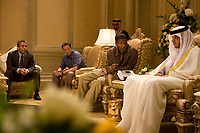 The Kingdom (2007) <br /> Jeremy Piven, Jamie Foxx, Chris Cooper &amp; Omar Berdouni<br /> *Filmstill - Editorial Use Only*<br /> CAP/KFS<br /> Image supplied by Capital Pictures
