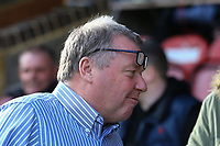 AFC Wimbledon manager Wally Downes during AFC Wimbledon vs Burton Albion, Sky Bet EFL League 1 Football at the Cherry Red Records Stadium on 9th February 2019