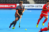 Sander Baart of Netherlands during the Hockey World League Quarter-Final match between Netherlands and China at the Olympic Park, London, England on 22 June 2017. Photo by Steve McCarthy.<br /> <br /> Netherlands v China at the Olympic Park, London, England on 22 June 2017. Photo by Steve McCarthy.