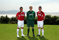Pictured L-R: Matthew (Matty) Collins, unknown and Marcos Painter<br />